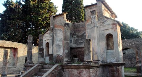 Tempel der Isis in Pompej