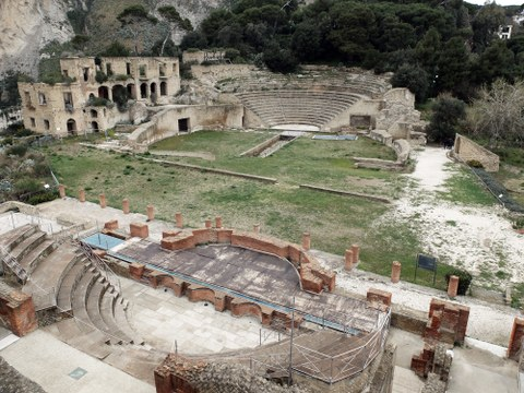 Die römische Kaiservilla Pausilypon