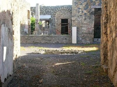 Isistempel in Pompeji