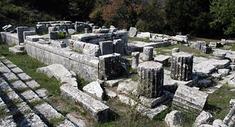 Tempel der Despoina