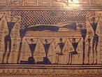 Prothesis Darstellung auf der Dipylon Amphora - Athen