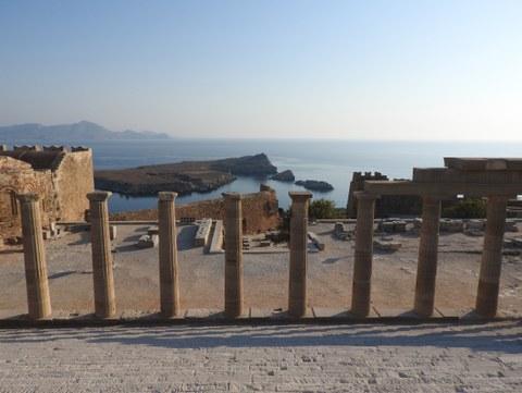 Sanctuary of Athena Lindia at Lindos (Rhodos)