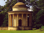 Stowe - Buckinghamshire - The Tempel of Ancient Virtue von William Kent