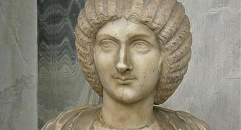 Büste der Julia Domna im Vatikan